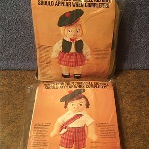 Campbell's Soup Kids Make Your Own Doll Kits - New